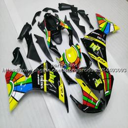 yamaha r1 carenagem preta Desconto Custom + 5Gifts amarelo verde motocicleta preta Carenagem Para yamaha YZFR1 09 10 11 YZF-R1 2009 2010 2011 ABS motor de plástico kit de Carenagem