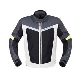 Armadura verde online-Motocicleta Negro Blanco Verde Biker Jacket Full Body Protective Gear Racing Impermeable Riding Armor Ropa con forro extraíble