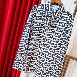 Клетчатая сатиновая ткань онлайн-Женские рубашки Новая мода Повседневная Trends Joker рубашка шелковый атлас Ткань Классический контраст клетчатую рубашку