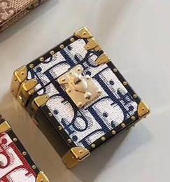 2019 auricolari per iphone .5s plus Cuoio copertura Griglia auricolari di caso per Airpods lusso Casi Airpod 1 2 auricolare senza fili Bluetooth caso duro della copertura Protector 508B