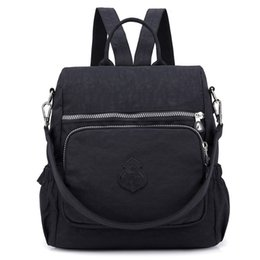4c2a7efbe619 Preppy Style Women Backpack Waterproof Nylon School Bag Lady Women s  Rucksack Female Casual Travel Shoulder Bag Mochila Feminina discount female  backpack ...