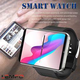 2020 relojes inteligentes lemfo LEMFO LEM T 4G Pantalla 2,86 pulgadas cámara inteligente reloj Android 7.1 3GB 32GB 5MP relojes inteligentes lemfo baratos