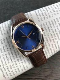 relogios senhoriais Desconto Relógios pequenos das mulheres 2019 da forma para o couro de luxo 36mm Marrom de carvalho dos numerais romanos reais do relógio 4 relógio de pulso das senhoras das cores com pulso de disparo da data