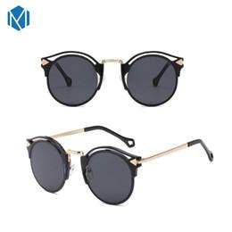 Стрелка солнцезащитные очки мужчины онлайн-MISM Классические Модные Женские Солнечные Очки Arrow Vintage Очки Круглый Cat Eye Бренд Дизайнер Дамы Мужчины Зеркало UV400 gafas de sol