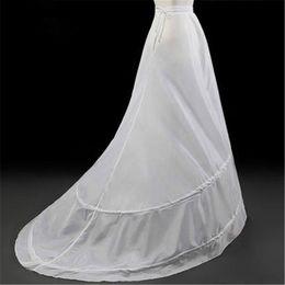 Canada Jupon Blanc De Sirène Pour Robes De Mariée 2019 Crinoline Jupon Femmes jupon sottogonna unterrock Offre