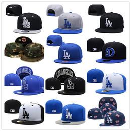 stock di cappelli di snapback Sconti 32 colori e stile in stock Cappellini da baseball New Fashion LA Dodgers Snapback per donna con visiera berretto casquette hip hop ossa