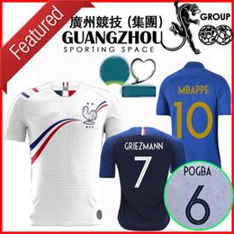 Kit speciale online-2020 2021 france Centenario pullover di calcio 20 21 Mbappe GIROUD maillot de foot 100th Special Edition Concetto attrezzare la camicia di calcio della nazionale