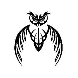 2019 vogel fenster aufkleber Eulen Vogel Abstrakt Tribal Maskottchen Mode Für Auto Auto / Stoßstange / Fenster Vinyl Aufkleber Aufkleber Aufkleber DIY Dekor CT1067 günstig vogel fenster aufkleber