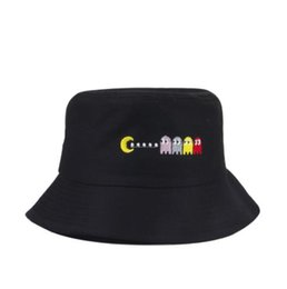 2019 nuovo caldo pisello ricamo cappello pescatore femminile marea estate versione coreana del cappello del cappello del sole del cappello del demon parasole da cappello di cachemire coreano fornitori