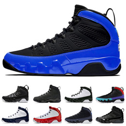 Taille de la statue en Ligne-air jordan retro 9 Hommes New Jumpman Basketball Chaussures 9 Dream it do it 9s IX space jam Anthracite Racer Blue statue designer sneakers baskets taille 13