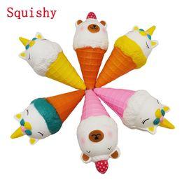 Blando de Kawaii unicornio helado blando Squishys antiestrés lento aumento de juguetes para los niños juguete de regalo de descompresión desde fabricantes