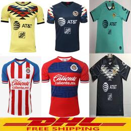 Lotto jersey online-DHL Spedizione gratuita la migliore qualità 2019 2020 Chivas America Maglie da calcio spedizione gratuita ultra-veloce formato può essere miscelato lotto S-XXL