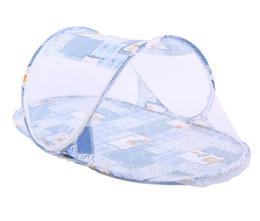 Mosquiteiro para bebês ao ar livre on-line-Portátil Mosquito Net Tenda dobrável camping berço ao ar livre rede de cama carrinho de bebê berço mosquito net barraca cama para berços ao ar livre