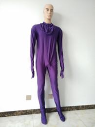 Темно-фиолетовый костюм зентаи лайкра комбинезон спандекс полный боди комбинезон носить кожаные колготки мужские с оболочкой пениса 8 маска можно выбрать от