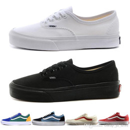 93ef0bbb032 China Casual shoes Vans Old Skool Authentic Low for Mens Women