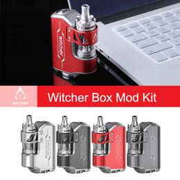 Vtc mini kit online-Rofvape Witcher Box Mod Kit 75W elektronische Zigarette E Shisha Vaporizer VS Istick Pico evic VTC Topbox Mini Stealth Ritter
