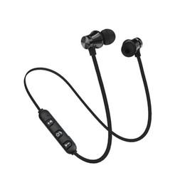 SZAICHGSI XT11 Бас-стерео Bluetooth-наушники Наушники-вкладыши Потолочные наушники Беспроводные спортивные наушники с микрофоном для Xiaomi Samsung PC cheap headphones bluetooth for pc от Поставщики наушники bluetooth для пк