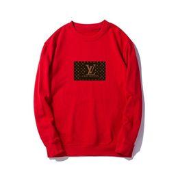 Новые стильные свитера онлайн-Lou 2019 новый мужской женский и детский свитер, высококачественная ткань, удобный и стильный, бейдж с принтом L
