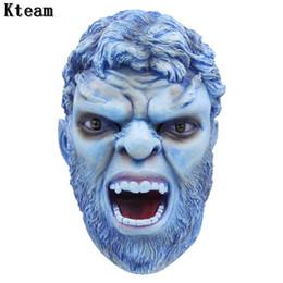 Mascaras de phoenix para adultos online-Caliente de la película X-Man Wolverine Cosplay Látex Máscara de Halloween para adultos Cosplay Cosplay Dark Phoenix Máscaras regalo Nave de la gota