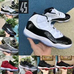 2019 Nike Air Jordan 11 retro jordans Männer Basketball Schuhe Günstige 23 Frauen Cap Gown PRM Erbin Gym Rot Chicago Tint Space Jams Sportschuhe