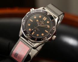 2019 persol gläser hohe Qualität James Bond 007 sieht keine Zeit zu sterben Meer Master Uhren UhrOmega00 Herrenuhr [nicht aus Schuppen Wolle] D2001
