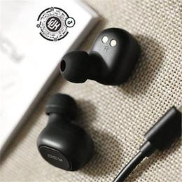 Fones de ouvido qcy on-line-QCY T1C TWS 5.0 fone de Ouvido Bluetooth 3D Estéreo Sem Fio fone de Ouvido com Microfone Duplo mini Fones de Ouvido Sem Fio Epacket livre