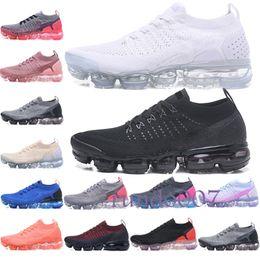the best attitude fc89a d873e Nike vapormax,vapormax flyknit,vapor 2019 air 2018 2.0 plus chaussures  design Nrg athlétique hommes femmes maxs baskets triple blanc noir rouge  bleu ...