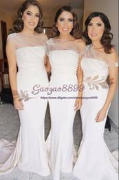 625ebbe06c8 convertible wrap dress bridesmaid Promo Codes - Elegant Long Formal Dresses  for Women 2019 sheer neck
