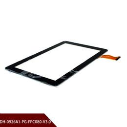 dh inch tablet Rabatt Neue 9''Inch DH-0926A1-PG-FPC080-V3.0 Tablette PC kapazitive Screen-Verkleidungs-Analog-Digital wandler Sensor-Ersatzteile Freies Verschiffen