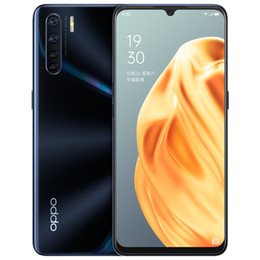 2020 oppo mp3 spieler Original Oppo A91 4G LTE-Handy 8 GB RAM 128 GB ROM Helio P70 Octa-Core Android 6.4