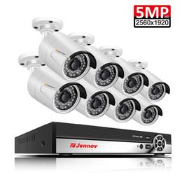 8CH 5MP HDMI CCTV Sistemi AHD DVR HD IR Ev Açık Güvenlik Kamera P2P Video Gözetim Kiti 2 TB HDD Su Geçirmez Gece Görüş cheap home security system camera hdd nereden ev güvenlik sistemi kamera hdd tedarikçiler