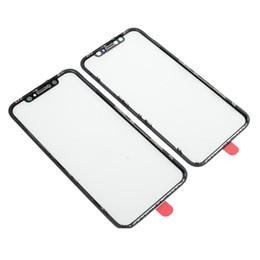 Touch screen panel glas ersatz online-Frontscheibe Außenglas Len mit OCA + Blendenrahmen für iPhone XR Touch Panel Ersatzteile