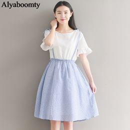 cd8881534 Distribuidores de descuento Cute Coreano Vestidos Mangas