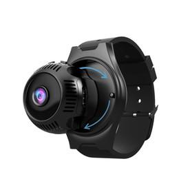 2019 câmera de visualização ao vivo Novo Mini HD CAM 4K 1080P CCTV Camera X7 Além disso pequeno Wearable Night Vision IR LED WiFi Vídeo Mini Câmeras inteligente Pulseira Pulseira Camera