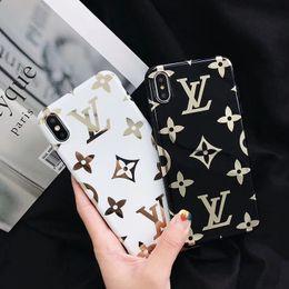 2019 spiegel lite 2019designer One Piece Mode Luxus Designer-Handyhüllen für iPhone XSMax XR XS X 8 8plus 7 7plus 6s 6splus 6 Rückseite Handyhülle