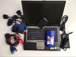 câmera de inspeção autel Desconto nexiq usb link 2 scanner de diagnóstico do caminhão diesel 125032 soft-ware com D630 4g cabos do laptop conjunto completo