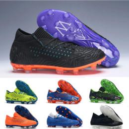 2019 edición limitada Nuevos hombres de la moda Futuro Netfit Griezman 19.1 FG Zapatillas de fútbol para interiores Baratas para la edición limitada 19.1 MVP FG / AG zapatos de botas de fútbol 2019 edición limitada baratos