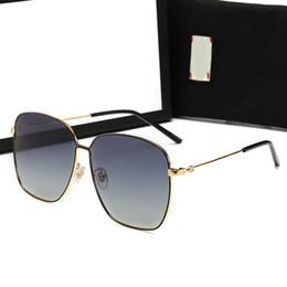 6f82a18a5 Gucci GG0396 2019 Moda de Luxo Aviador-Estilo Marrom Óculos De Sol Dos  Homens Armações de Óculos de marca novo mens prova óculos de sol retro dos  homens do ...
