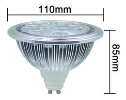 Argentina AR111 llevado caliente G53 AR111 9W LED de la lámpara AC100-240V 950lm llevó la lámpara del techo de la luz del punto del envío Suministro