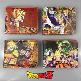 Японский мультфильм аниме Dragon Ball DRAGON BALL Sun Wukong Saiyan PU студенческий детский кошелек supplier dragon wallets от Поставщики дракон кошельки