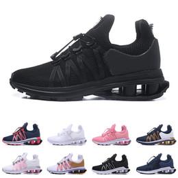 the latest 42bf7 0c63a Nike shox Air Run GRAVITY zapatillas de correr transpirables para hombres  mujeres zapatillas de deporte para hombre entrenadores triple negro blanco  rojo ...