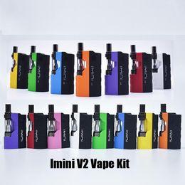2019 interruptor da caixa de bateria Autêntico Imini V1 Varts ICarts Starter Kit 650/500 mah Bateria Pré-aqueça Caixa Mod Para I1 Óleo Grosso Vape Cartucho Vaporizador Atomizador 100% Original