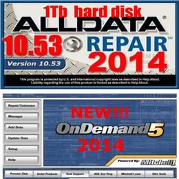 Mitchell car repair software online-Neueste Version 5 in 1 Auto Repair Software alldata V10.53 alle Daten und 2015.1 Mitchell OnDemand5 Car Diagnostic Program