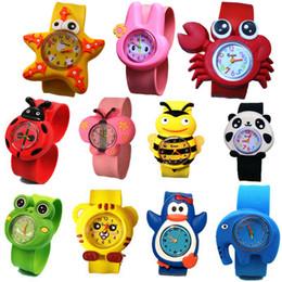 Mode enfants enfants dessin animé 3D mignon animal slap sport montres en gros garçons filles bonbons gelée cadeau d'anniversaire poignet montres ? partir de fabricateur