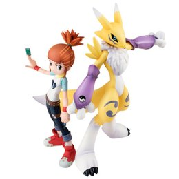 Anime Actionfigur Makino Ruki Renamon Digimon Abenteuer Digimon Queen bemalt Cartoon Kinder Figuren Spielzeug von Fabrikanten