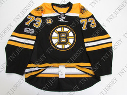 b32cde258 Cheap custom McAOVY  73 BOSTON BRUINS HOME SCHMIDT PATCH JERSEY stitch add  any number any name Mens Hockey Jersey XS-5XL. Supplier  tntjersey