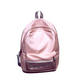 Sacos de compras de seda on-line-Brand new Rainproof mulheres de seda mochilas estilo preppy meninas estudantes mochila feminino sacos de compras senhoras mochilas de viagem
