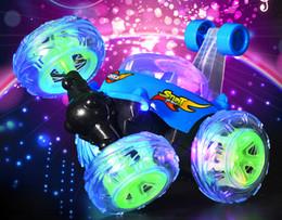 Control remoto de coche pequeño online-Algas surgimiento de cerdo vehículo de doble sacudiendo sonido con la tapa de cerdo pequeña música pedo vertido juguete de control remoto 100piece coche infantil