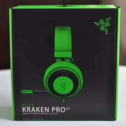 xbox stereo headphones Coupons - Razer Kraken Pro V2 Headphones Analog Gaming Headset Fully-retractable with Mic Oval Ear Cushions for PC Xbox One and Playstation 4