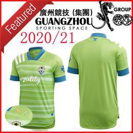 camisas de futebol verde em branco Desconto 20 21 Seattle VERDE Sounders Futebol 2020 MLS estrelas patrocina CAVALLINI 9 ADNAN 53 Montero 12 GODOY 22 2021 camisa de futebol CAMISA
